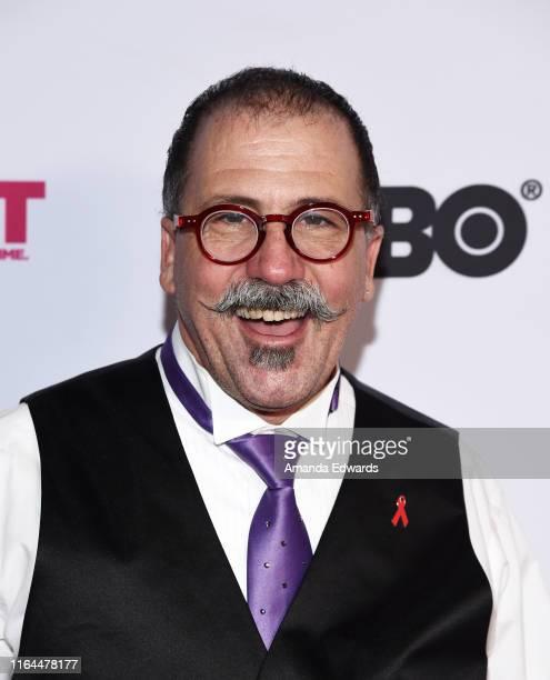San Francisco Gay Men's Chorus member Gary Mendelson Varela arrives at the 2019 Outfest Los Angeles LGBTQ Film Festival Screening of Gay Chrous Deep...