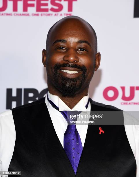 San Francisco Gay Men's Chorus member Jeremy Green arrives at the 2019 Outfest Los Angeles LGBTQ Film Festival Screening of Gay Chrous Deep South at...