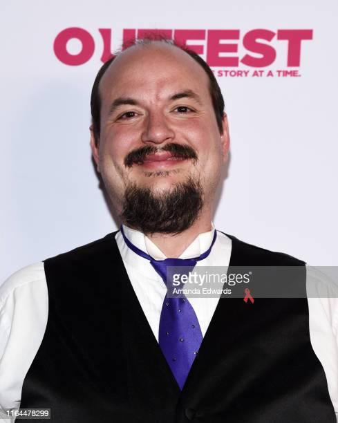 San Francisco Gay Men's Chorus member JT Williams arrives at the 2019 Outfest Los Angeles LGBTQ Film Festival Screening of Gay Chrous Deep South at...
