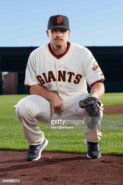 San Francisco Giants catcher Tim Federowicz poses for a portrait during San Francisco Giants photo day on Feb 20 at Scottsdale Stadium in Scottsdale...