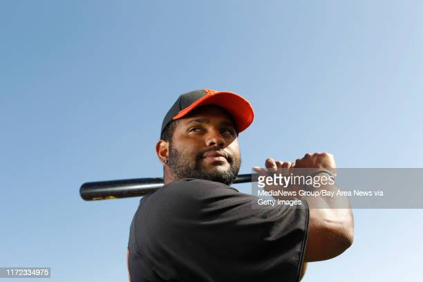 San Francisco Giants infielder Pablo Sandoval is photographed in Scottsdale Ariz on Thursday Feb 27 2012