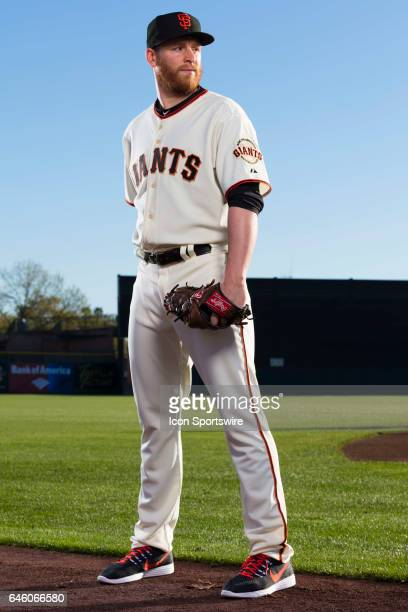 San Francisco Giants pitcher Neil Ramirez poses for a portrait during San Francisco Giants photo day on Feb 20 at Scottsdale Stadium in Scottsdale...