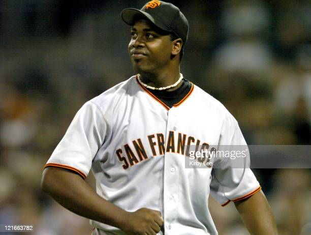 San Francisco Giants starter Jerome Williams pitched seven innings to pick up the win during 41 victory over the San Diego Padres at Petco Park in...