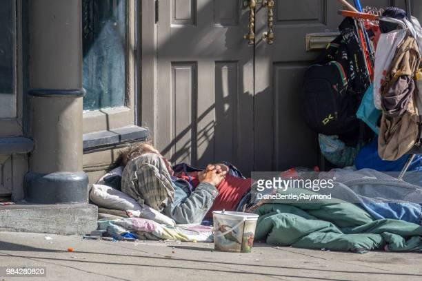 san francisco homeless camps - san francisco homeless stock photos and pictures