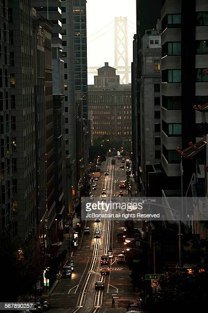 san francisco in the morning - jcbonassin stock pictures, royalty-free photos & images