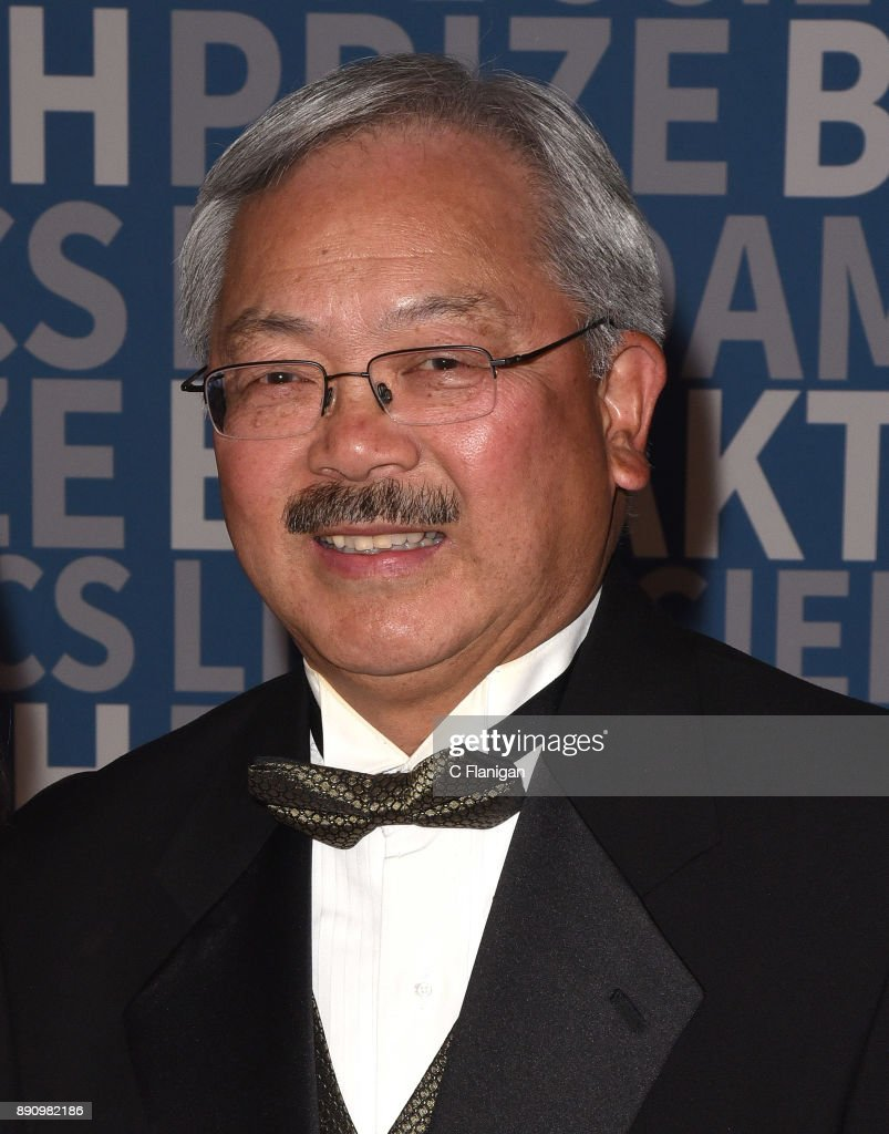 San Francisco Mayor Ed Lee arrives at the 2018 Breakthrough Prize at NASA Ames Research Center on December 3, 2017 in Mountain View, California.
