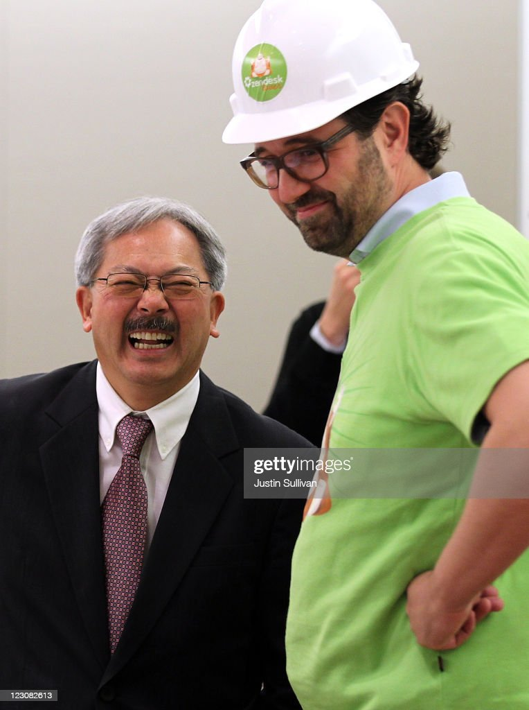 SF Mayor Ed Lee Attends Opening Of Cloud Based IT Company In San Francisco