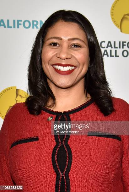 San Francisco Mayor London Breed attends the 12th Annual California Hall of Fame Ceremony at The California Museum on December 4 2018 in Sacramento...