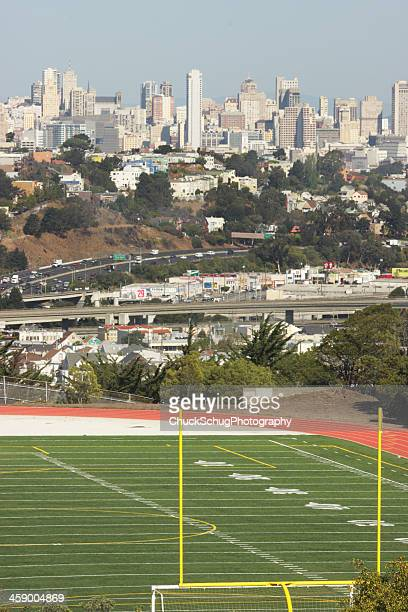 san francisco mission bernal heights chavez - borough district type stock pictures, royalty-free photos & images