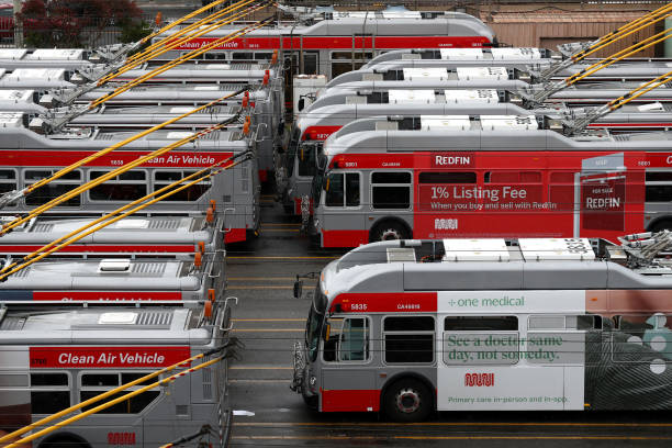 CA: San Francisco's Muni To Cut Majority Of Service During Coronavirus Shutdown