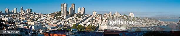 San Francisco North Beach Pacific Heights panorama