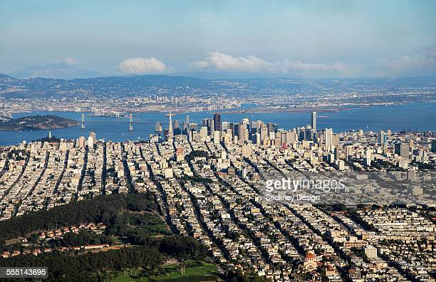 San Francisco & Oakland Aerial