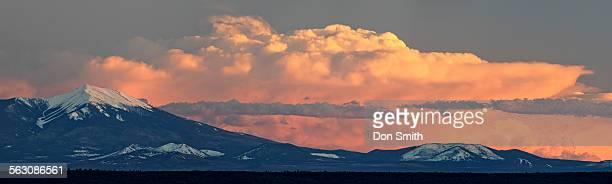 san francisco peaks - flagstaff arizona stock pictures, royalty-free photos & images