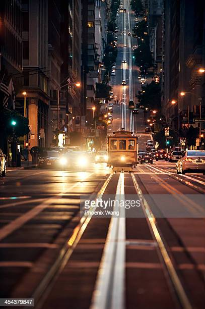 san francisco - cable car stock pictures, royalty-free photos & images