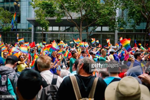 サンフランシスコ プライド 2017 - ゲイ・パレード ストックフォトと画像