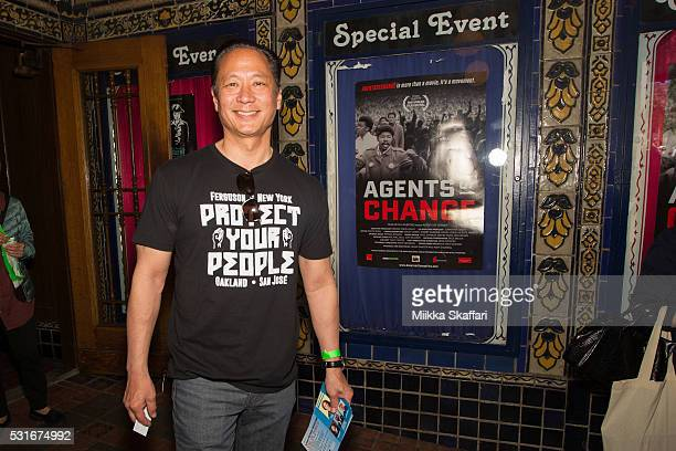 San Francisco public defender Jeff Adachi arrives at the premiere of 'Agents of Change' at Castro Theater on May 15 2016 in San Francisco California