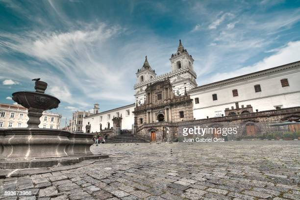 san francisco quito 2 - ecuador stock pictures, royalty-free photos & images