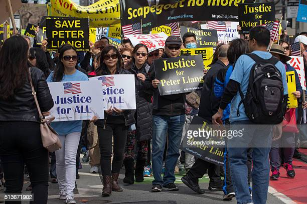 San Francisco Rally in Support of Peter Liang