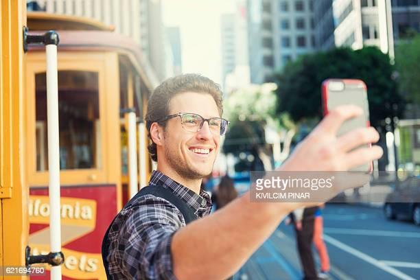 San Francisco selfie