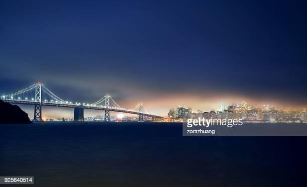 San Francisco Skyline at Night, California, USA