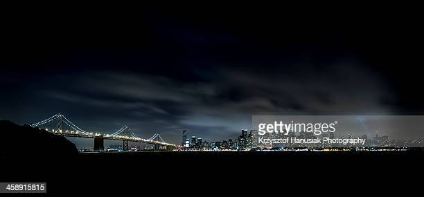 San Francisco skyline by night