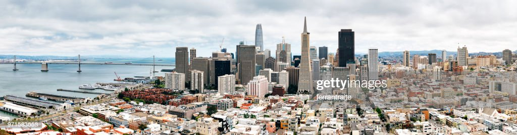 San Francisco Skyline : Stock Photo