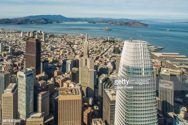 San Francisco Skyline with Salesforce Tower