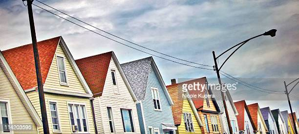 San Francisco Style Row Houses in Chicago