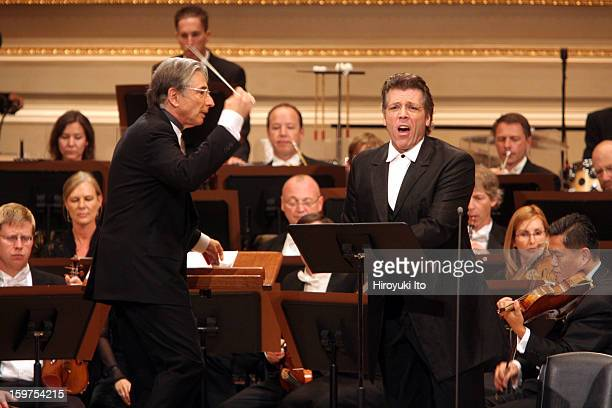 San Francisco Symphony performing all Bernstein program at the opening night gala at Carnegie Hall on Wednesday night, September 24, 2008.This...