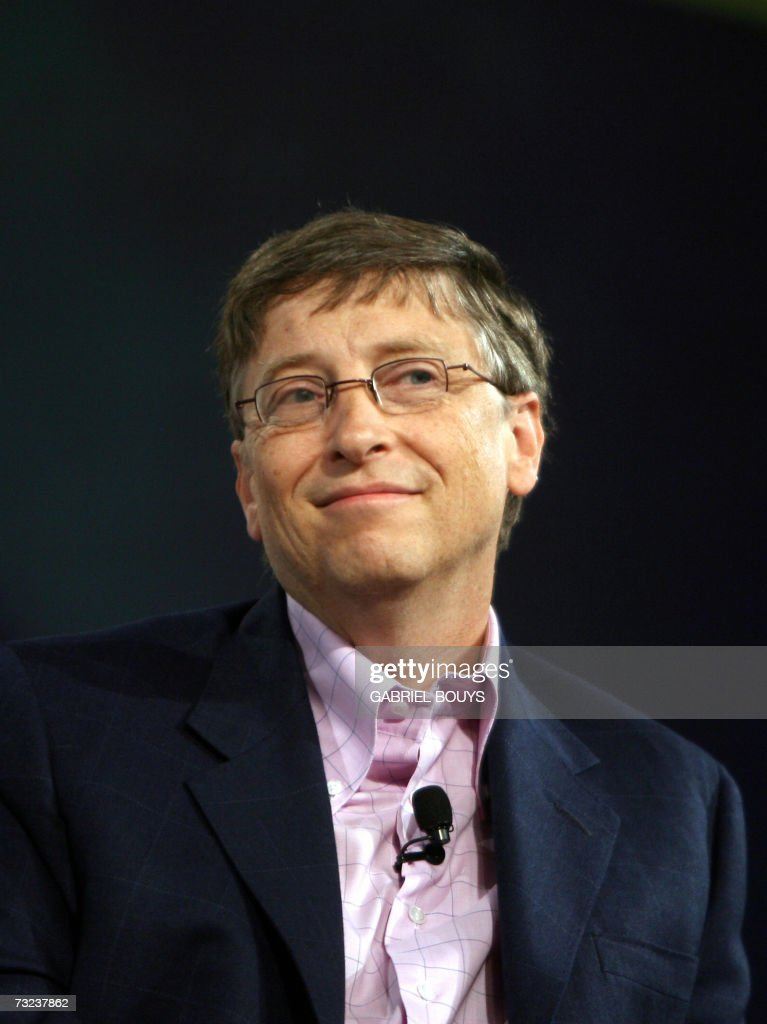 Bill Gates of Microsoft is seen during the opening keynote at the RSA conference at the Moscone Center 06 February, 2007 in San Francisco, California. RSA is the worlds largest computer security conference.