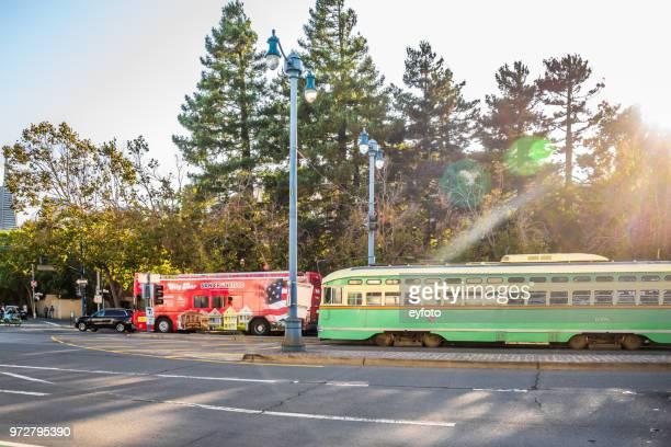 San Francisco Vintage Electric Bus