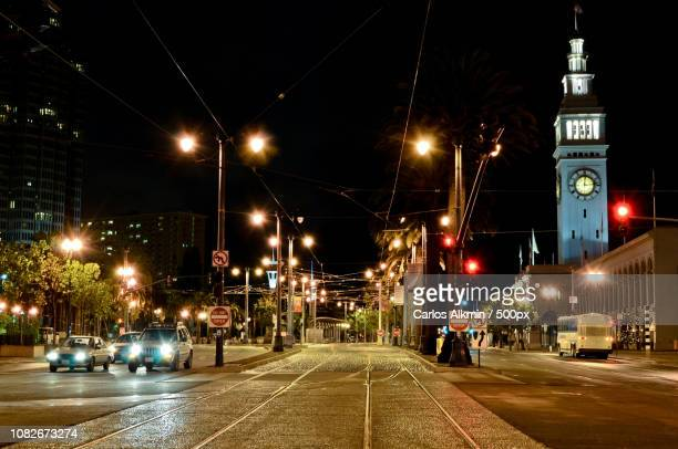 San Francisco-CA - The Embarcadero - Street Scene in the USA