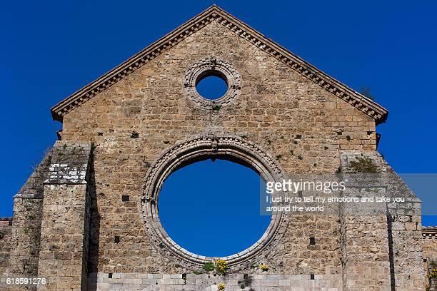San Galgano near Chiusdino, Siena, Tuscany, Italy