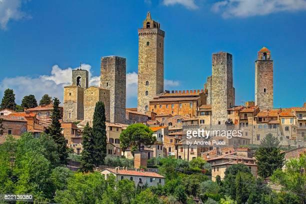 san gimignano, tuscany, italy - サンジミニャーノ ストックフォトと画像