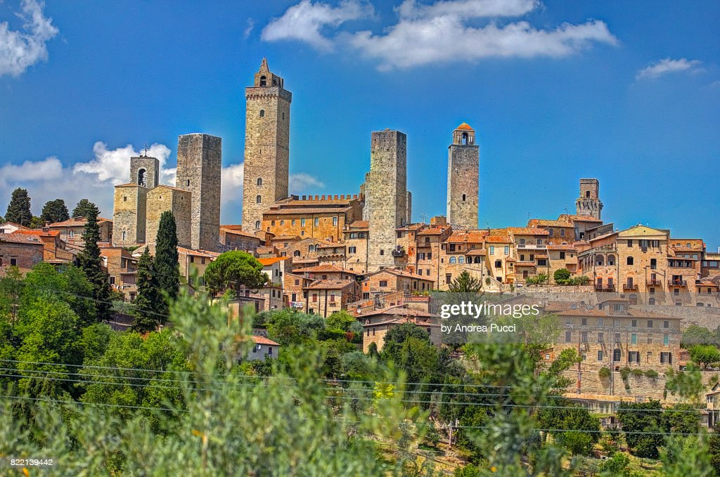 San Gimignano, Tuscany, Italy : Stock Photo