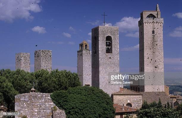 San Gimignano, veduta delle torri