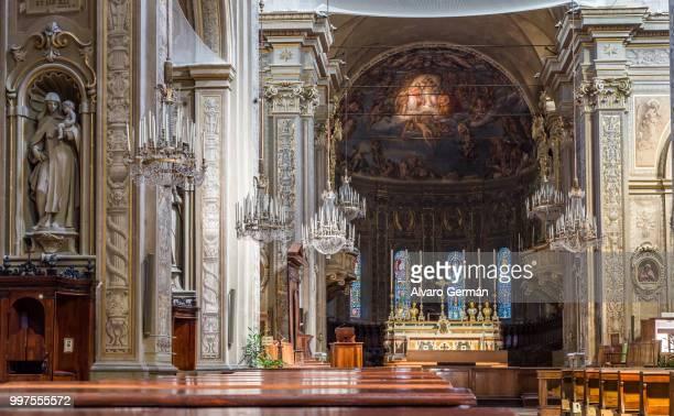 San Giorgio cathedral of Ferrara in Emilia-Romagna. Italy.