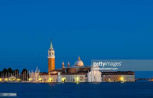 San Giorgio Maggiore at night, San Marco
