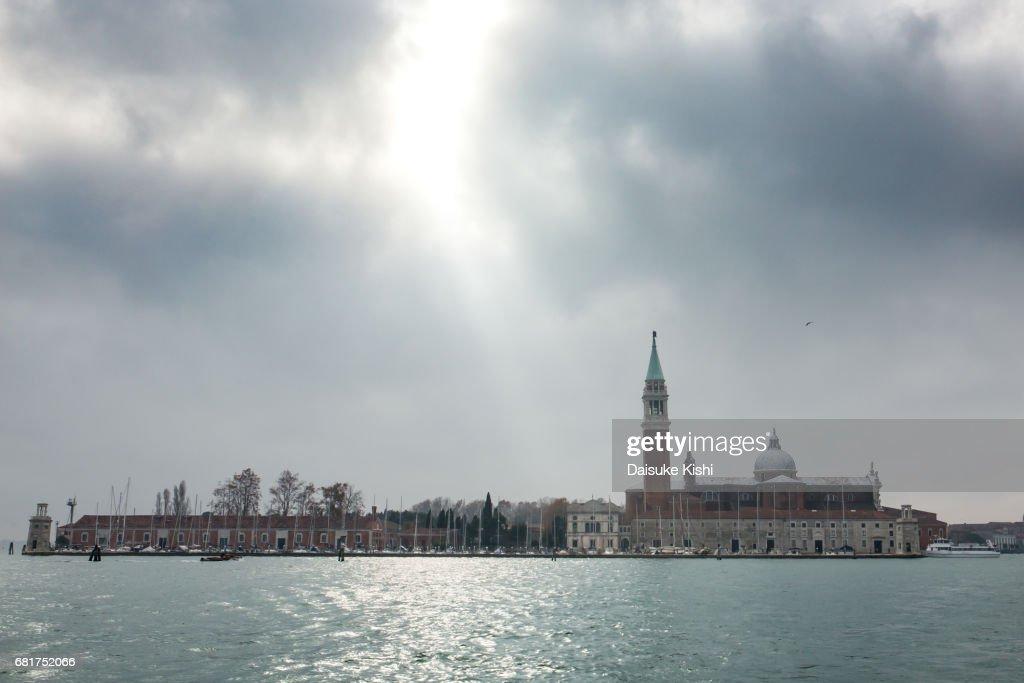 San Giorgio Maggiore, Venice : Foto de stock