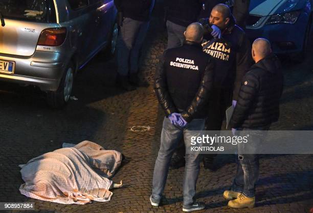 San Giovanni a Teduccio suburb of Naples murdered woman Annamaria Palmieri killed by suspected camorra in the street out his home The investigative...