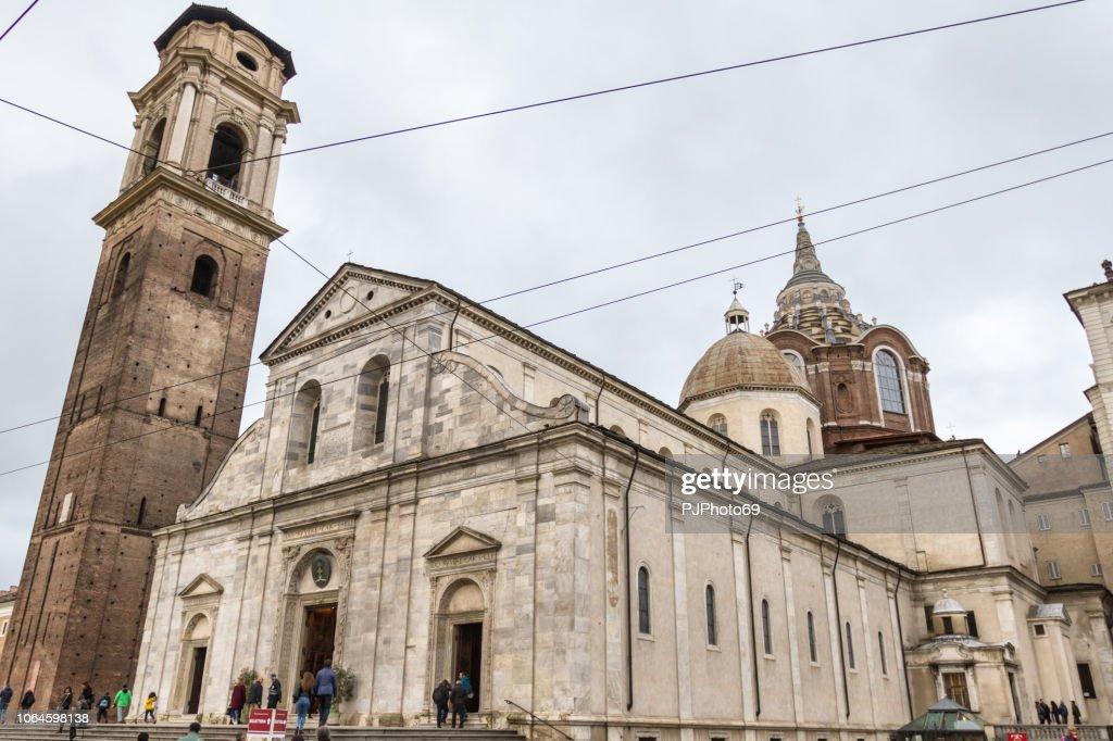 San Giovanni Battista Cathedral - Turin - Italy : Foto stock