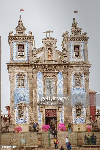 San Ildelfonso Church in  Porto,Portugal