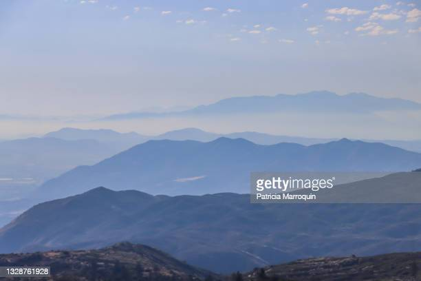 san jacinto mountains vista - los angeles mountains stock pictures, royalty-free photos & images