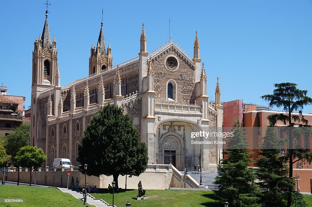 San Jerónimo el Real Church, Madrid, Spain : Stock Photo