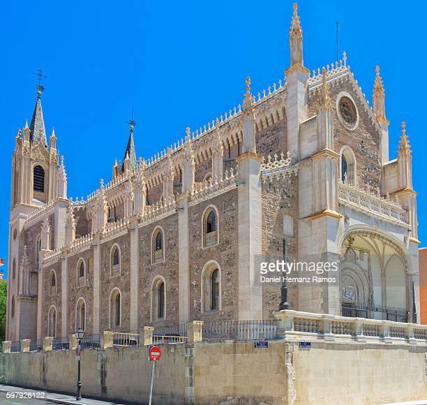 San Jeronimo el Real against blue sky, Madrid Spain