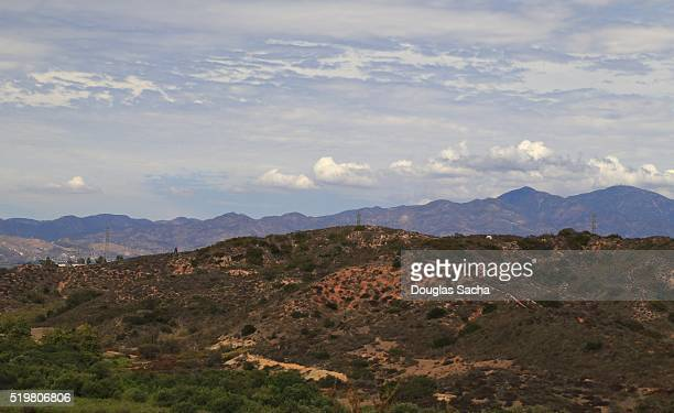 san joaquin hills, california, usa - hollywood hills stock pictures, royalty-free photos & images