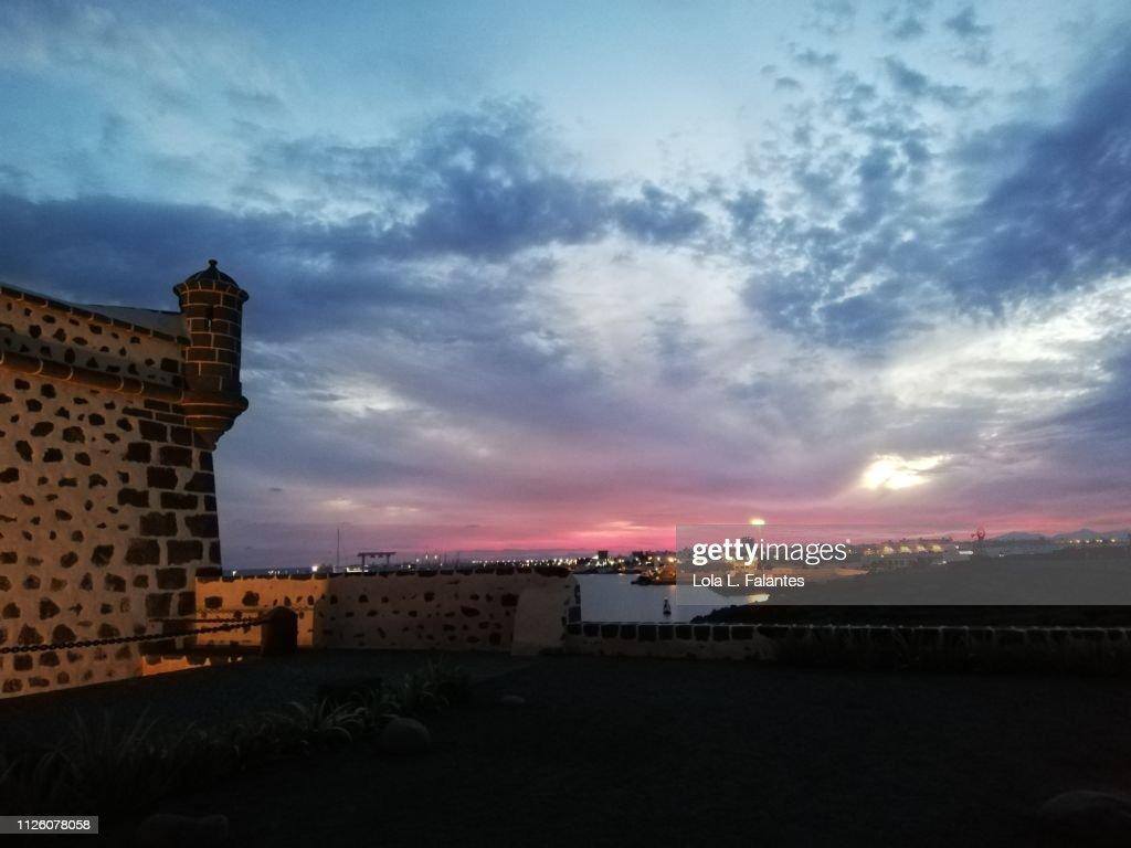 San José castle, Arrecife : Foto de stock