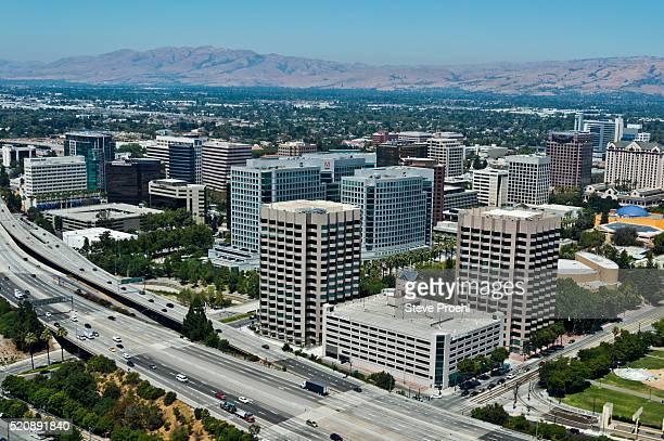 san jose, ca - san jose california stock photos and pictures