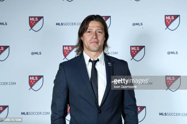 San Jose Earthquakes head coach Matias Almeyda during the MLS SuperDraft 2019 presented on January 11 at McCormick Place in Chicago IL