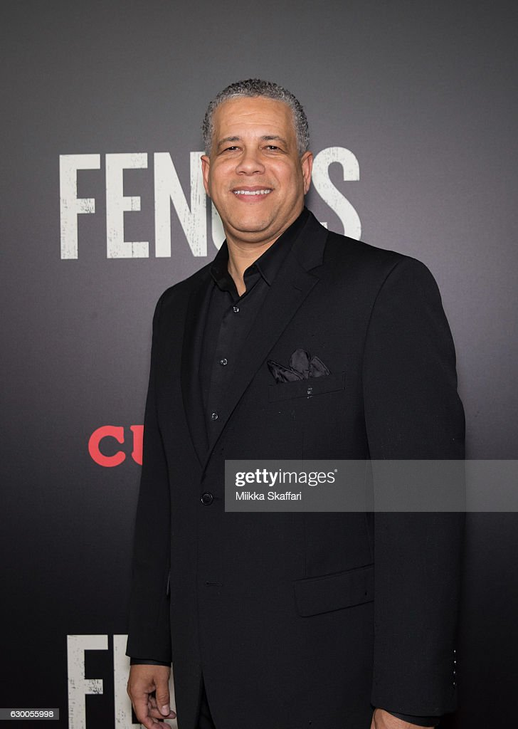 San Jose fire department chief Curtis Jacobson arrives at the Premiere of 'Fences' at Curran Theatre on December 15, 2016 in San Francisco, California.